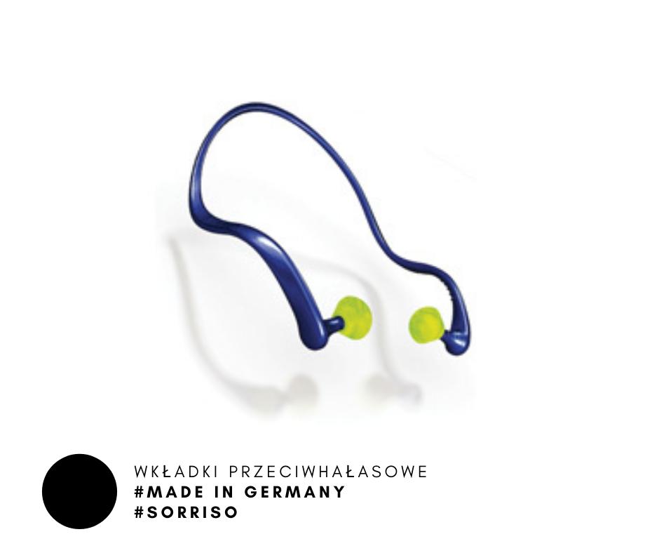 ochrona słuchu wkładki przeciwhałasowe stopery